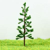Wholesale N Gauge Railway Layout Miniature Model Trees Green Avenue Wire Tree Pine 6.5cm from china suppliers