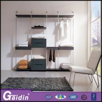 Wholesale Modern household bedroom wall wardrobe designs luxury walk in wardrobe pole system from china suppliers