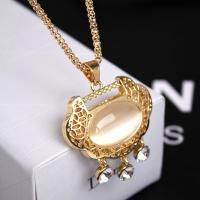 Wholesale Factory jewelry Direct Sale Queena 18K Rose Gold Jewelry Titanium Steel Chain Lock Long Snake Necklace from china suppliers
