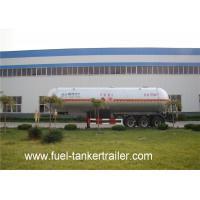 Wholesale 3 Axles Anhydrous ammonia lpg transport trailer by Q370R material from china suppliers