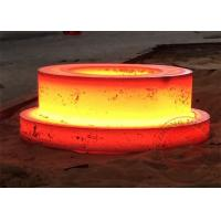 China Rolled Ring Alloy Steel Forgings Stainless Steel Flange High Carbon OEM ODM on sale