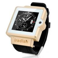 Wholesale I6 Watch Phone 1.54 Inch Screen MTK6577 Android 4.0 OS Camera 4GB GPS 3G 2.0MP camera Andr from china suppliers