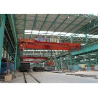 Buy cheap 50 Ton Double Beam Bridge Crane Lifting Equipment With Wireless Radio Remote Control from wholesalers