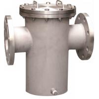 Wholesale Steel Water Meter Strainer ANSI 150# RF Flanged Basket Strainers from china suppliers