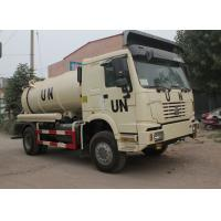 Wholesale Sanitation Enterprise Sewage Suction Truck 8-12CBM LHD 4X2 , Liquid Waste Trucks from china suppliers