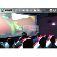 Wholesale Interaction Reality 7D Movie Theater With Red Fiber Glass Motion Seats from china suppliers
