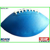 Wholesale Custom Blue Official Rugby Ball For Kids / PVC Leather Australia Rugby Ball from china suppliers