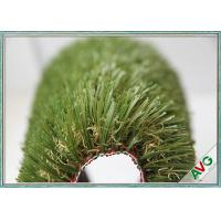 Natural Looking UV Resistence Outdoor Artificial Grass For Residential / Garden / Landscape