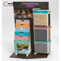 Wholesale Focus Marble Tiles Display Racks Showroom Display Rack Stands Designing Manufacturing from china suppliers