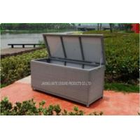 Wholesale PE Wicker Rattan Garden Storage Box / Weather Proof Storage Containers from china suppliers