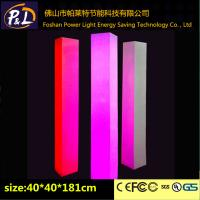 Wholesale LED Square Pillar with RGB 16 Colors for Wedding decoration from china suppliers