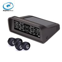 Wholesale Car TPMS tire pressure monitoring system pressure and temperature alert solar powered LCD display from china suppliers