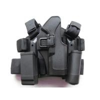 Wholesale Glock 17 / 18 / 19 / 23 Tactical Thigh Thumb Break Holster for Riot Police Gear from china suppliers