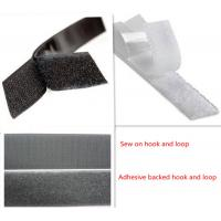 Wholesale Best price hook and loop adhesive tape glued from china suppliers