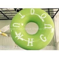 Wholesale Hand Carved Shop Display Christmas Decorations Promotional Big Size Fiberglass Donuts from china suppliers