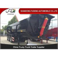 Wholesale 40 Tons Dump Semi Trailer With WABCO RE 6 Relay Valve Steel Material from china suppliers