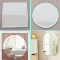 Quality Round Decorative Mirror with Silver Mirror of 2mm,3mm,4mm,5mm,6mm, clear float silver mirror for sale