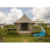 Wholesale White Accommodation shelter luxury Camping Tent for hotel room / resort from china suppliers