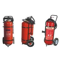 Quality Easy Installation DCP Trolley Fire Extinguisher 25kg For Industry OEM / ODM for sale