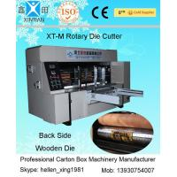 Wholesale High Speed Printing Rotary Die-Cutting Machine , Auto Carton Box Packing Machine from china suppliers
