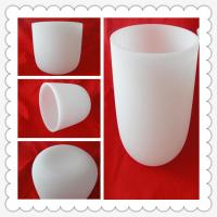 Wholesale Fused Silica Bowl Quartz Crucible Pots 6inch To 24 Inch from china suppliers