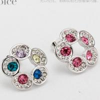 Wholesale 440810 Admiring flowers Earrings flower jewelery discount fashion jewelry wholesale  clothing distributor online shop from china suppliers