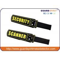 Wholesale LED strip Handheld Metal Detector , security wand metal detectors for airports from china suppliers