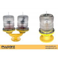 Wholesale Double Sea Solar Warning Light  Metal Housing Transfer Operation / Standby from china suppliers