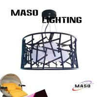 Wholesale MASO NEW Product Three Lamp LED Light Source Iron Material Pendant Light Fixture MS-I6026 from china suppliers
