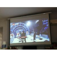Wholesale High Definition Hanging Projector Screen For Cinema School Show 92 - Inch 4 To 3 from china suppliers