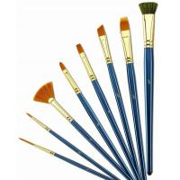 Buy cheap Customized Logo 4 Inch Artist Painting Brushes Liner Brushes For Oil Painting from wholesalers