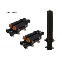 Wholesale 1 Acting Truck Hydraulic Lift Cylinder Heavy Duty Concrete Pump , Hydraulic Oil Cylinder from china suppliers