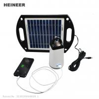 Wholesale Portable solar lights for outdoor with high capacity Lithium battery and USB output from china suppliers