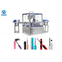 Rotary Type Automatic Cosmetic Filling Machine PLC Control 1-30ml Capacity