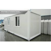 Wholesale Mobile Modular 20ft Container House / Durable Prefab Tiny Homes Earthquake Resistant from china suppliers