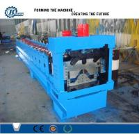 Wholesale PLC Hydraulic Automatic Galvanized Rolling Form Line / Metal Ridge Cap Forming Equipment from china suppliers