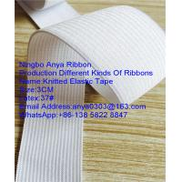 3cm 5.8g/m/cm 37#Latex  Knitted Elastic Tape,Elastic Tape,Tape,Polyester Elastic Tape,Garment Accessories