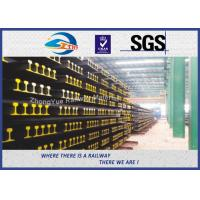 Wholesale BS11:1985 British Standard Railway Steel Crane Rail For Guide Train Wheels Position from china suppliers