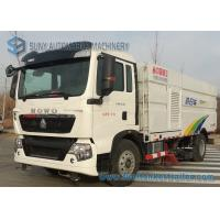 Wholesale HOWO 7M3 7000L / 5000L 5M3 Sanitation Truck Road Cleaning Truck 4X2 from china suppliers