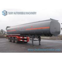 Wholesale Customized Oil Tank Trailer 42000L Trapezoid Alcohol Chemical Tank Trailer 0.9 Bar from china suppliers