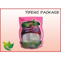 Wholesale PE Plastic Stand Up Pouch With Zipper For Dry Fruit nuts vagetable from china suppliers