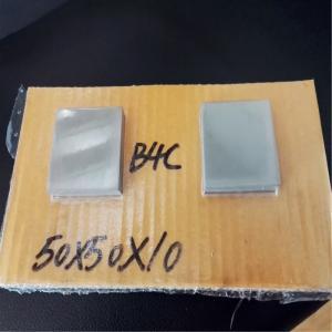 China Boron Carbide Ceramic Bulletproof Plates , Ballistic Body Armor Plate on sale