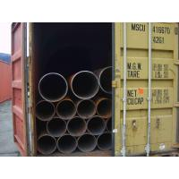 Wholesale Round Seamless Welded Steel Pipes / Tubes, API 5L Pipe, ERW Carbon Steel Tube Customized from china suppliers