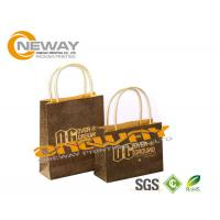 Wholesale 2 Side 4C Gift Kraft Paper Packaging Bags Fashion With Handles from china suppliers