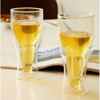 Wholesale top popular double wall beer glass for wholesale from china suppliers