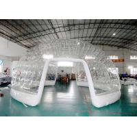 Buy cheap High grade airtight clear tent inflatable dome building from wholesalers