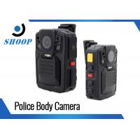 Wholesale 128GB HD Police Body Cameras , 1080P Police Body Worn Cameras Law Enforcement from china suppliers