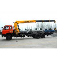 Wholesale High auality  12T Telescopic Truck Loader Crane , XCMG Hydraulic Truck Crane from china suppliers