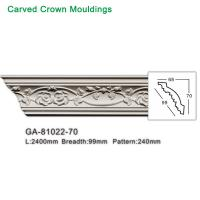Wholesale 2017 newly polyurethane foam crown cornice moulding from china suppliers