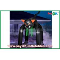 Wholesale Event Inflatable Holiday Decorations Halloween Cat WIth Oxford Material from china suppliers
